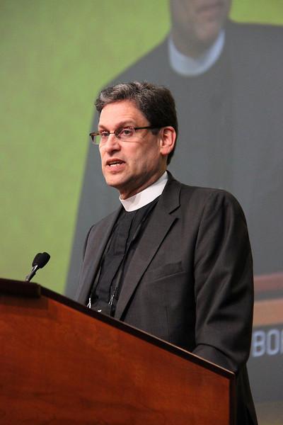 The Rev. Mark Wilhelm, program director for schools, represents the Board of Regents of Dana College.