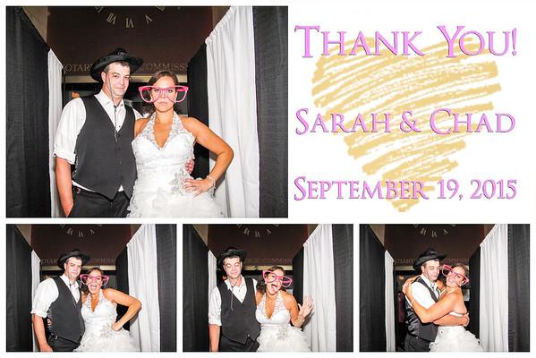 Sarah & Chad Wedding Photo Booth