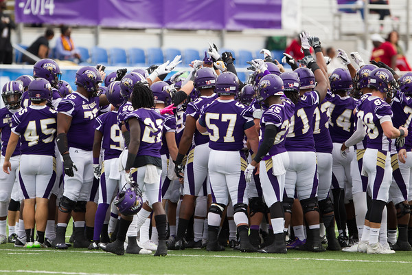 UNA Football vs Tuskegee - 2nd Rd Playoff 2015