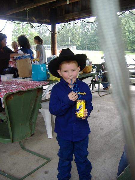 Cowboy Conner Sept 2006 birthday