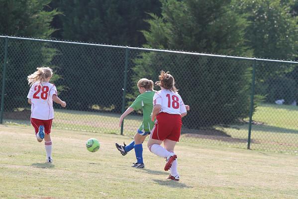 U10 Girls vs Cherokee Impact 5-21-2011