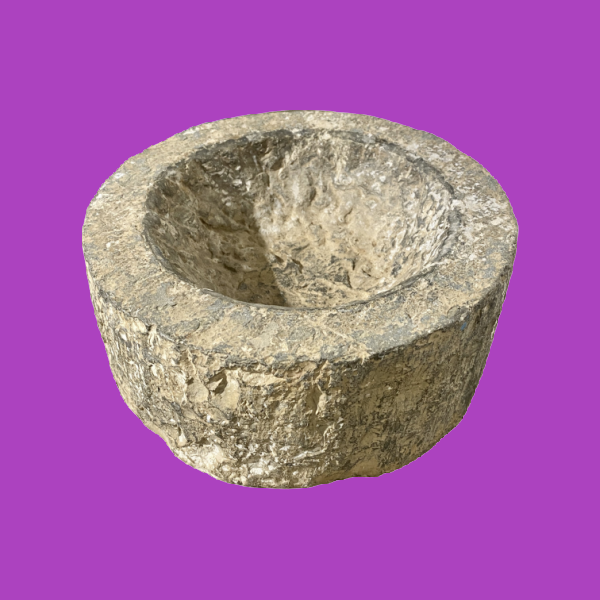 Hewn Stone Ashtray by Decorative Salvage.png