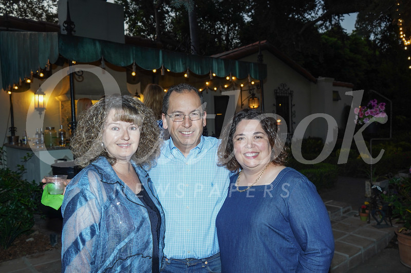 Justene Pierce with Curtis and Eileen Cameron