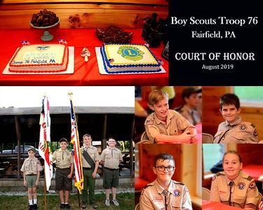 Scouts Troop Meeting August 2019
