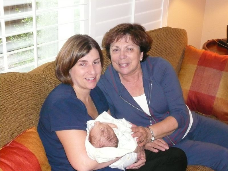 Me, Mom and Great Aunt Norma