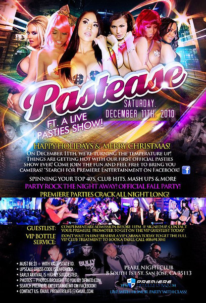 12/11 [Pastease@Pearl]