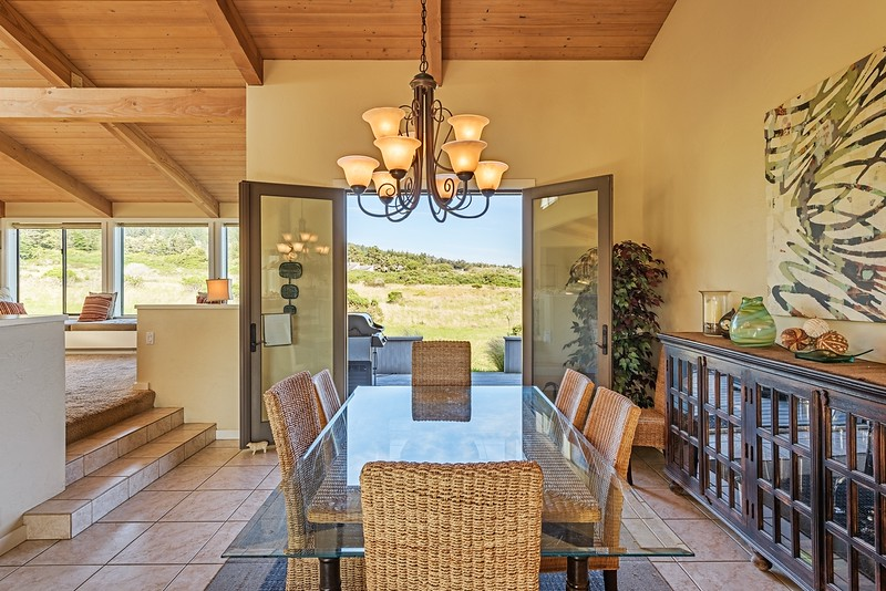 Dining Room with Meadow View