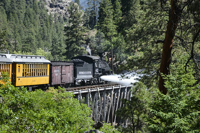 Durango and Silverton Narrow Gauge Railroad, Colorado