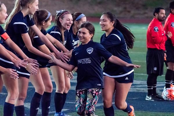 2018 Girls Varsity Soccer vs. Scappoose