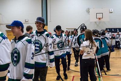 Canucks visit Special Olympics Calgary