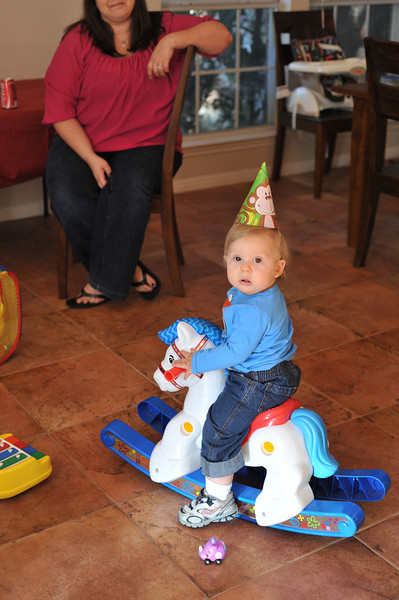 Aaron's 1st Birthday