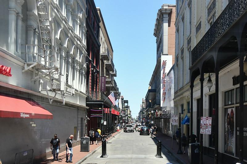 Bourbon Street from Canal Street