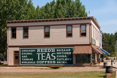 Reed's Bazaar and Tea Shop - Fort Edmonton