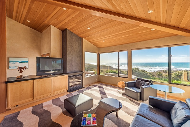 Ocean Views from Living Room