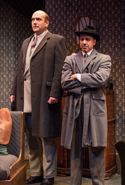 DAYS TO COME BY LILLIAN HELLMAN Geoffrey Allen Murphy and Evan Zes Photo by Todd Cerveris