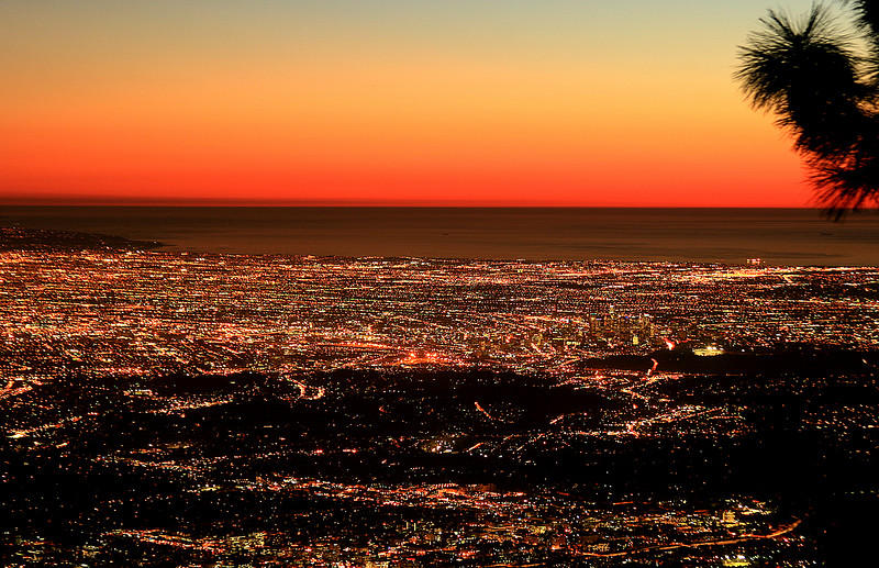 20061122_LAX: View from Mt. Wilson, absolutely amazing! Warm Santa Anna winds provided unrestricted visibility on this day.