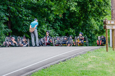 2015 Handcycle at the Oval