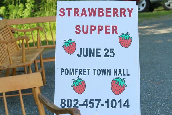 Pomfret Strawberry Supper, 2016