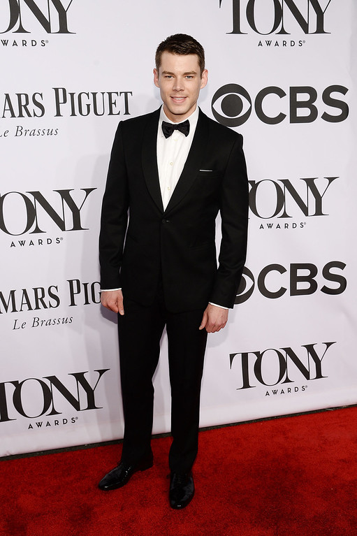 . Actor Brian J. Smith attends the 68th Annual Tony Awards at Radio City Music Hall on June 8, 2014 in New York City.  (Photo by Dimitrios Kambouris/Getty Images for Tony Awards Productions)