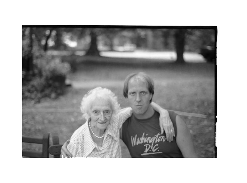 1983 Summer Roll 2. MJ and Grandma Anne 2.jpg