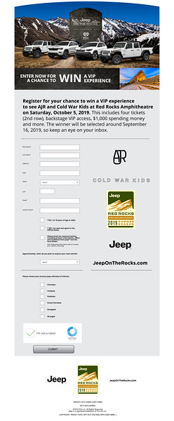 Jeep on the Rocks Campaign Build