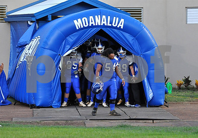 "08-14-09 Moanalua Varsity Football (3) ""vs"" Mililani Varsity Football (16) - Photos by Alan Kang"
