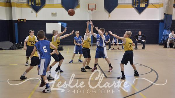 CYO 5th Gr Basketball Wolverines 12072013