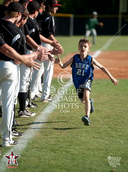 2011-04-05 Baseball Varsity Boys John Cooper @ St. John's