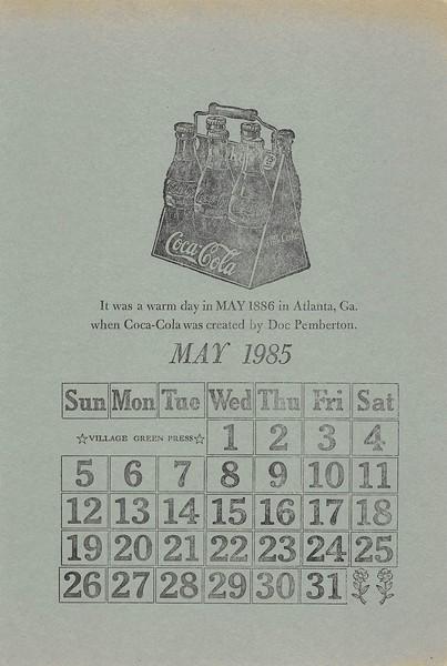 May, 1985, Village Green