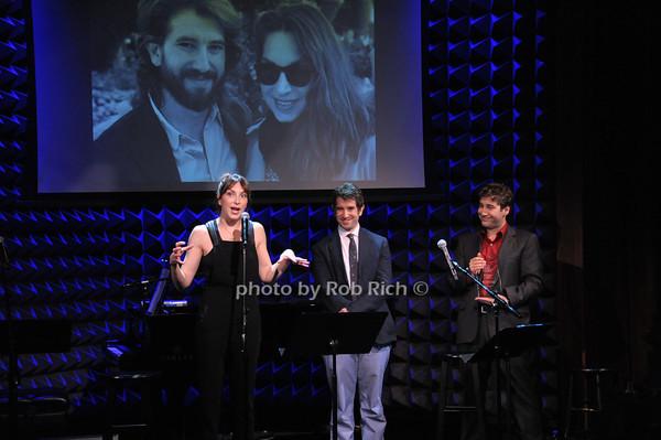 Pia Zankel, Jimmy Zankel, Scott Schwartz photo by Rob Rich © 2014 robwayne1@aol.com 516-676-3939