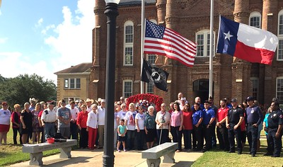 Patriot Day 2019 commemorated in Shelby County on grounds of historic Shelby County Courthouse