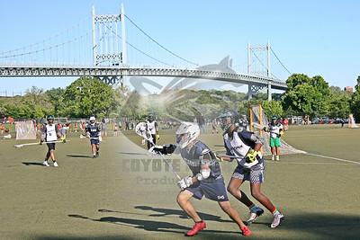 6/11/2019 - Middle School Boys - East Harlem vs. Bronx Lacrosse (Highbridge Green) - Semifinal Playoff Game - Randall's Island Park, New York, NY