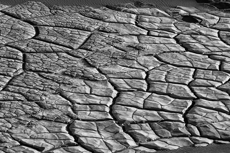 Desert Mud Death valley