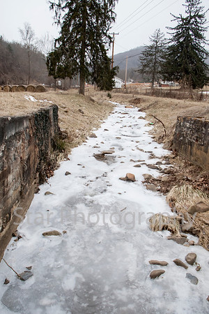 Gap Creek Snow Features 1-28-14