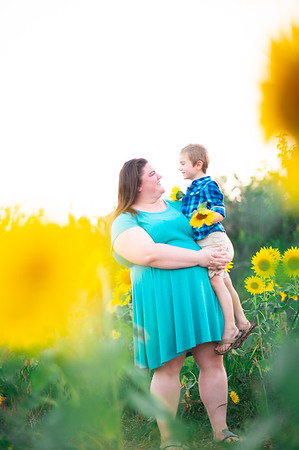 Kelsey's sunflower session