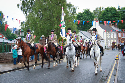 Selkirk Common Riding 2016, Safe Oot