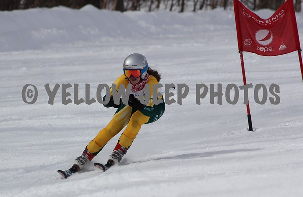 2015 VT State HS Championship GS at Okemo 3-3-15