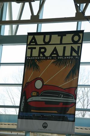 Day 1 - March 24 - Auto Train to FL