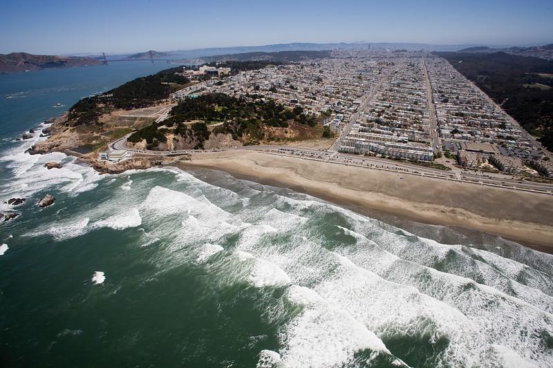 Ocean beach and San Francisco's endless avenues...