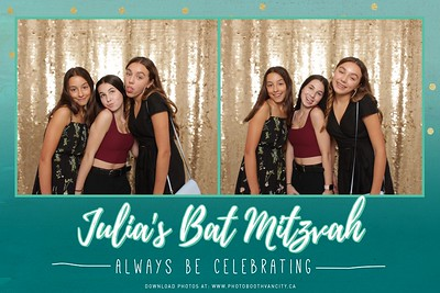 Julia's Bat Mitzvah