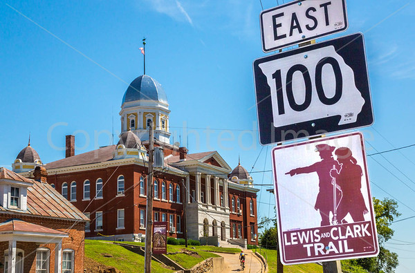 Bike Trails Beginning/Ending Near St. Louis - Lewis & Clark