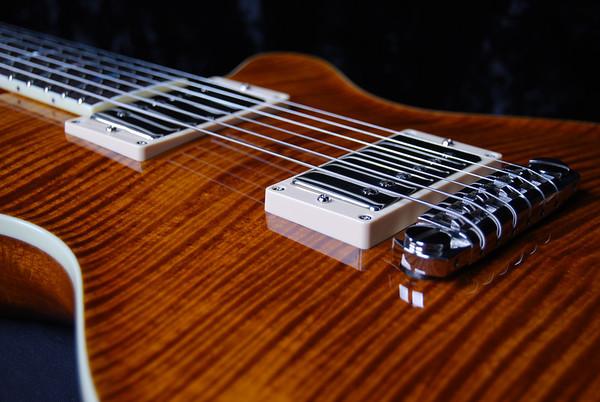 Set Neck Custom, Violin Amber, HH Pickups