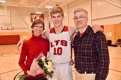 A Senior Moment-Boys Varsity Basketball photos by Gary Baker