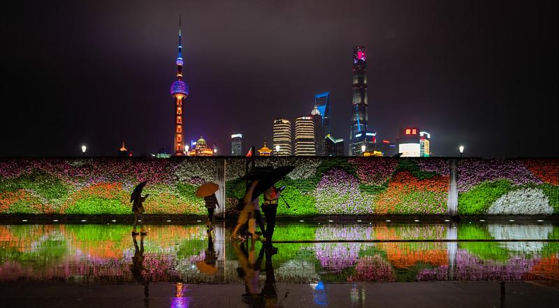 Rain in Shanghai