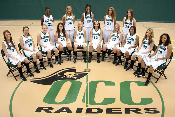 Oakland CC W Basketball 2011/2012