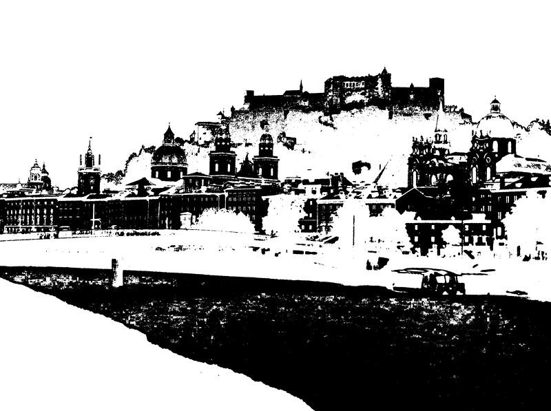 Salzburg black&white