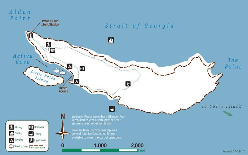 Patos Island Marine State Park