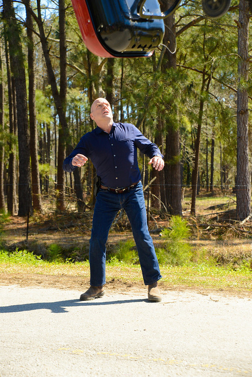 """. \""""Heads Will Roll\"""" - Dean Norris as James  as Big Jim-Rennie in UNDER THE DOME which returns for its second season on Monday June 30 at 10:00 PM ET/PT on CBS Television Network (Photo: Brownie Harris/CBS)"""