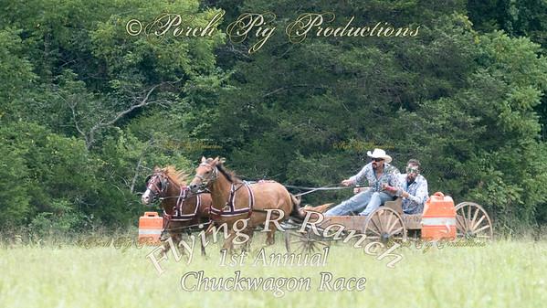 Sunday Flying R Ranch; 1st Annual Chuckwagon Race;