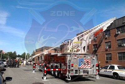 Hempstead F.D. Working Fire 45 Jackson St. 7/2/11